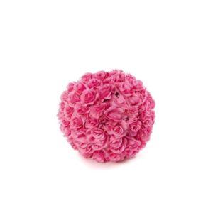 ABH-Deco - boule de rose en rose artificielle