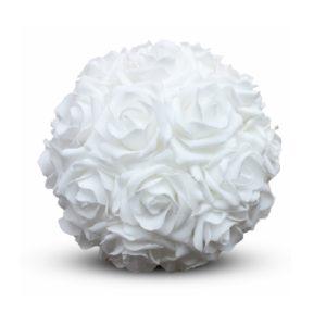 ABH-Deco - boule de rose en feutre