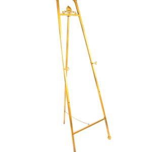 ABH-Deco - Chevalet en métal doré 150 cm
