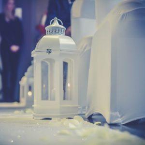 ABH-Deco - lanterne bois blanc