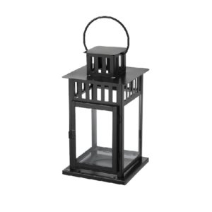 ABH-Deco - petite lanterne noir