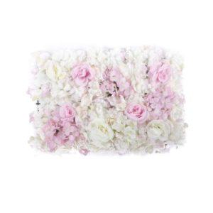 ABH-Deco - Plaque mur de fleur rose
