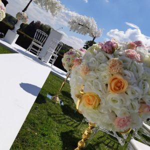 ABH-Deco - Arche cerisier blanc