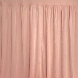 Location de drapé rose nude - ABH-DECO